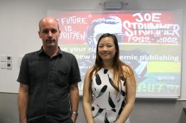 with Wendy Wong, editor at Taylor & Francis