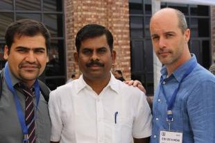 at ETD 2015 India Conference, photo c/o Behrooz Rasuli